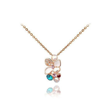 Shiny Gift New Arrival Stylish Crystal Jewelry Necklace [9281903940]