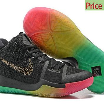 Sneaker paint Nike Kyrie 3  Rise and Shine Multi Color sneaker