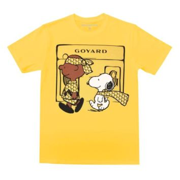 Designer Rags Snoop Yard T-Shirts in Maize Yellow