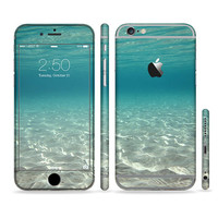 The Under The Sea Scenery Six-Piece Sectioned Series Skin Set for the Apple iPhone 6 or 6 Plus