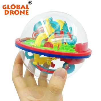 Global Drone 3D Magical Intellect Maze Ball Kids Amazing Balance Logic Ability Toys Learning & Educational IQ Trainer Game
