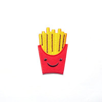 French Fries Iron on Patch/ Apllique