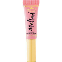 FREE deluxe size Melted Liquified Long Wear Lipstick in Peony 0.16 oz. w/any $25 Too Faced purchase