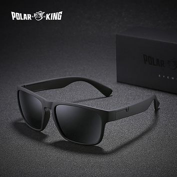 Men Plastic Square Driving Sun Glasses