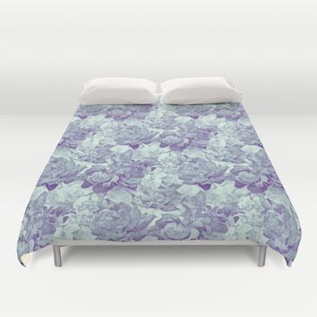 Variations on a Rose Duvet Cover by lillianhibiscus