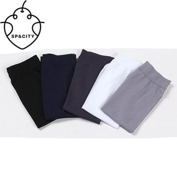 SP&CITY10pairSummer Mens Silk Socks Breathable Soft Short Off White Socks Thin Cheap Meias For Male Men Novelty Socks Wholesale