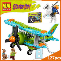 BELA Buidling Blocks 10429 Scooby Doo Figures Mystery Plane Adventures 75901 Model Compatible LEPIN Bricks Figure Toy For Kids