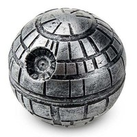 3 Layers Zinc Alloy Star Wars Death Star Grinder Weed Herb Tobacco Crusher Grinder Cigarettes Accessories Hand Muller