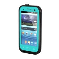 New Waterproof Shockproof Dirtproof Snowproof Protection Case Cover for Samsung Galaxy S3 I9300 (Teal) (098U)