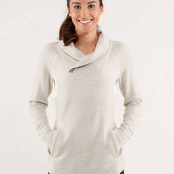 run: pitter patter pullover *merino wool | women's tops | lululemon athletica