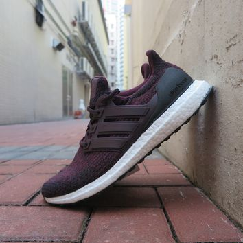 BC SPBEST adidas Ultra Boost 3.0 - Dark Burgundy/Core Black #S80732