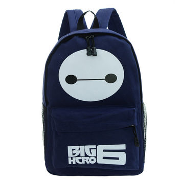 Back To School Hot Deal College Casual Comfort On Sale Stylish Korean Couple Fashion Print Alphabet Backpack [6582449607]