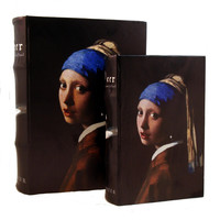 Girl with a Pearl Earring By Johannes Vermeer Book Box