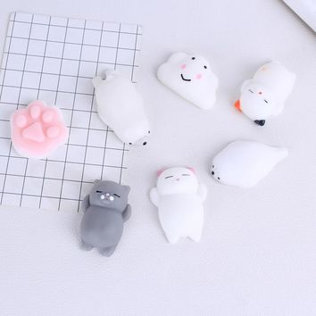 Squishy Slow Rising Silicone Pop Phone Holder Sleeping Panda 3D Squishy Bear Cover Fundas For Xiaomi Redmi 4X Cases Holder