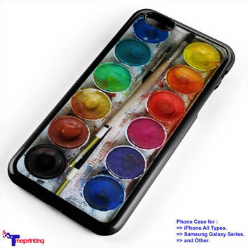 Paint box Palette - Personalized iPhone 7 Case, iPhone 6/6S Plus, 5 5S SE, 7S Plus, Samsung Galaxy S5 S6 S7 S8 Case, and Other