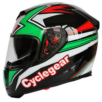 cyclegear  full face double lens motorcycle off-road helmet/racing cross-country helmets/riding cycling windproof warm  helmets