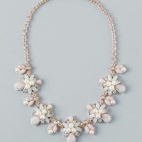 Lillie Statement Necklace in Rose Gold