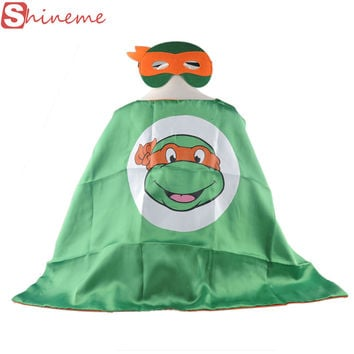 Baby carnival halloween costume for kids superhero capes teenage mutant ninja turtles toys shirts clothes cosplay birthday set