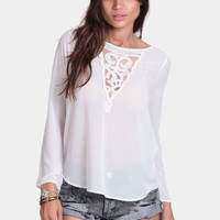 Last Chance Embroidered Blouse