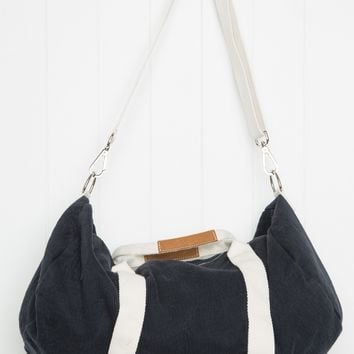 Navy Duffle Bag - Bags & Backpacks - Accessories