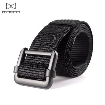 PEAPFS2 2018 Adult Promotion Outdoor Army Tactical Belt Military Nylon Belts Mens Waist Swat Strap With Buckle Rappelling Three Color