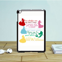 Disney Princesses Quotes Cover IPad Mini 1 2 Case Auroid