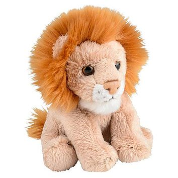 5 Inch Stuffed Lion Zoo Animal Plush Floppy Animal Kingdom Babies Collection