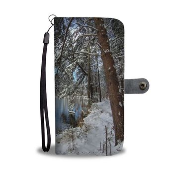 Snow Lake RFID Wallet Case