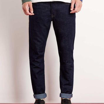INDIGO REGULAR SLIM FIT JEANS - TOPMAN USA