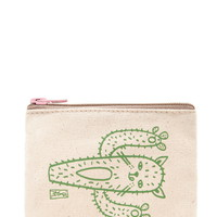 Stacy Michelson Cat-Tus Pouch