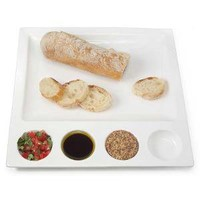 TASTING PLATE | Appetizer Platter with Compartments for Dips | UncommonGoods