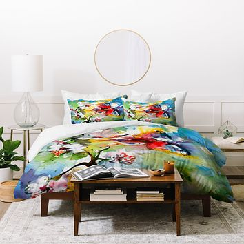 Ginette Fine Art Butterfly Flutter By Duvet Cover