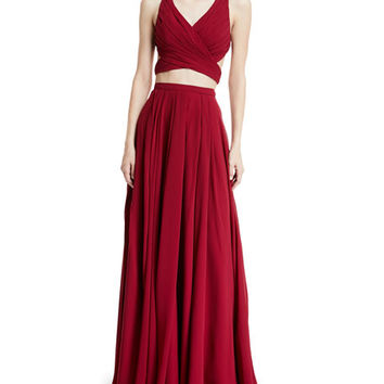 Fame and Partners Daisy Two-Piece Gown