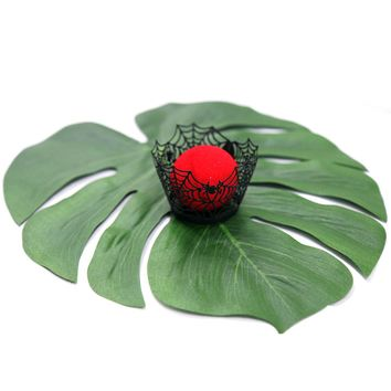12pcs Artificial Leaf 35x29cm Tropical Palm Leaves for Hawaiian Luau Beach Theme Party Wedding Table Decorations Accessories