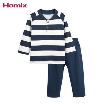 1T-4T Boys Pajamas Baby Boy Winter Clothing Sets Velvet Lining Warm Pyjamas Sets Kids Clothes Children Clothing
