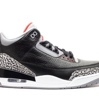 "AIR JORDAN 3 RETRO ""2011 RELEASE"" BLACK"
