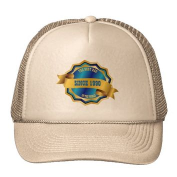 The Best Mom, Dad, Grandma, Grandpa, Sister, Bro Trucker Hat