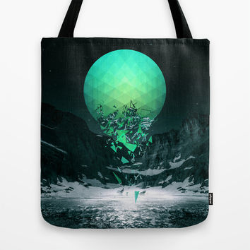 Fall To Pieces Tote Bag by Soaring Anchor Designs | Society6