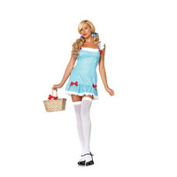 Leg Avenue Womens Darling Dorothy Halloween Party Dress Costume