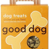 Sojos Good Dog 100% Natural Chicken Pot Pie Training Treats 8 oz