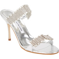 Dallifaco Crystal-Strap Sandals