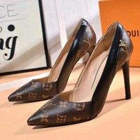 Louis Vuitton Women Fashion Heels Shoes