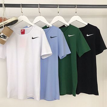 NIKE Fashion casual breathable men's and women's top T-shirt