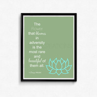 Disney Inspired Mulan Movie Quote Art Print, Digital Art, Wall Art, 8x10 Print, INSTANT DOWNLOAD
