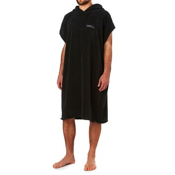 SWELL Surf Poncho - Black