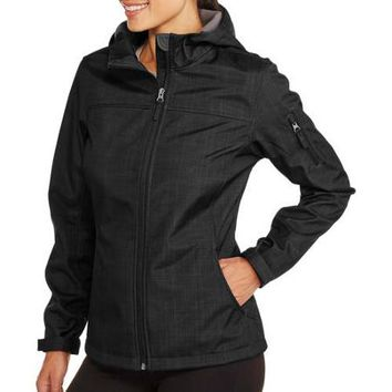 Free Tech Women's Soft Shell Hooded Jacket - Walmart.com