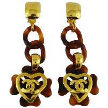 Chanel Vintage Extra Long Dangling Earrings Spring 1995