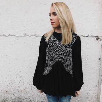 Marie Embroidered Blouse