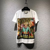 NEW 100% Authentic gucci 2018ss fashion t shirt  ※014