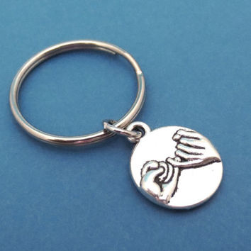 Promise, Keychain, Keyring, Frindship, Best Friend, Birthday, Gift, Gift, Key Ring, Key Chain, Jewelry